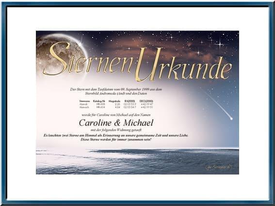 Echte Helle Sterne Kaufen Taufen Und Mit Liebe Verschenken